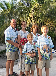 Family vacation at the Seagate vacation rentals on Providenciales in the Turks and Caicos Islands