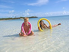 Fun beach activities for children