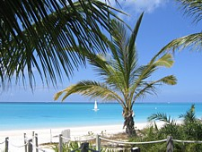 Grace Bay beach, Providenciales, Turks and Caicos Islands, one of the best beaches in the world