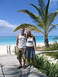 Romantic holiday and honeymoon at the Seagate condo rentals, Providenciales, Turks and Caicos Islands